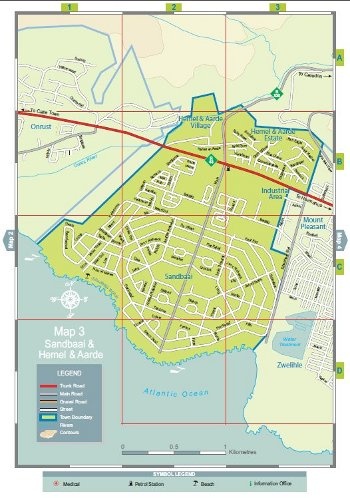 Hermanus Street Maps